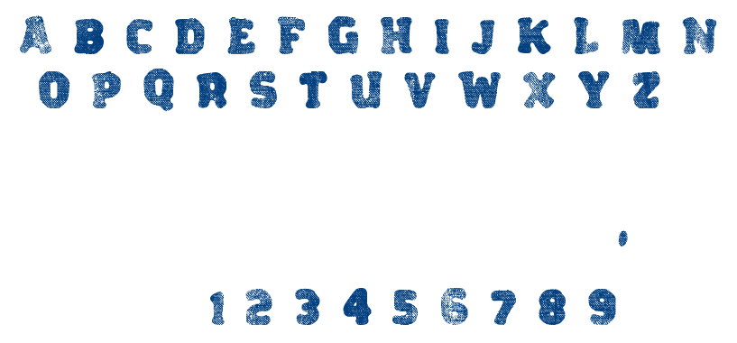 Variations font