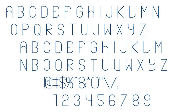 ABLAX font