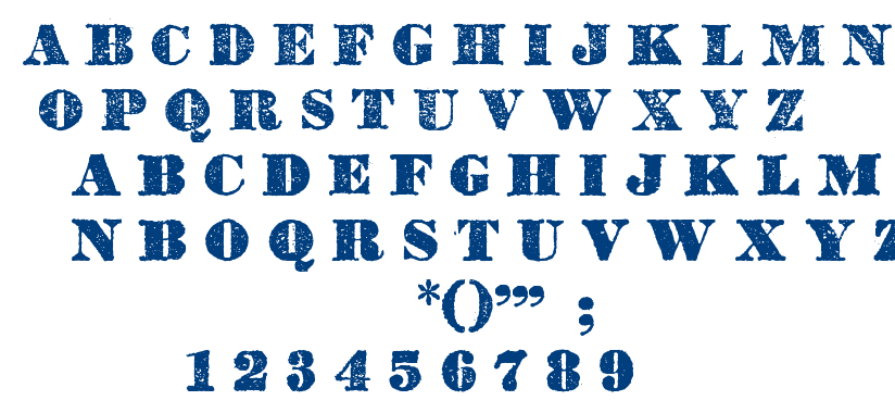 Dicksons tales font