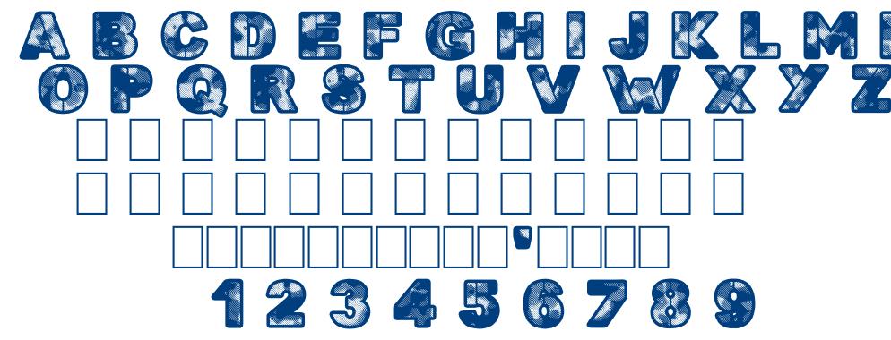 Searchn destroy font