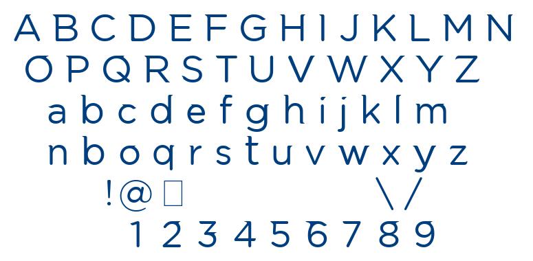 Luctan font