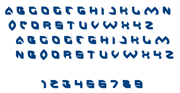 AERO GLASS font
