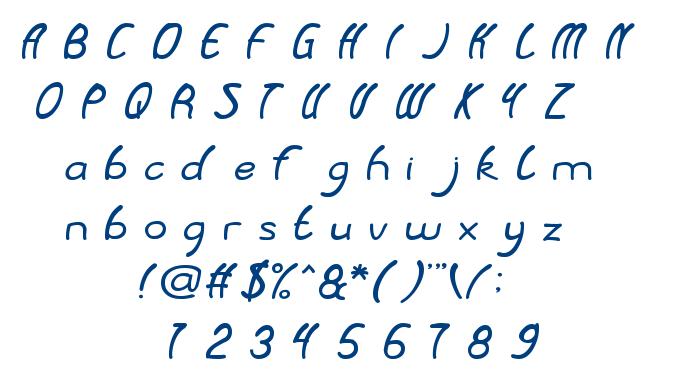 Baby Cuttie font