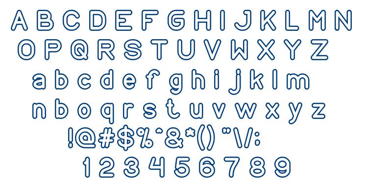 COPY PASTE font