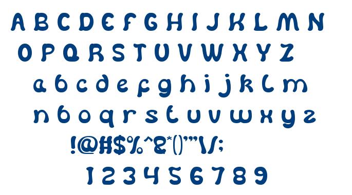 Dear Lovely font