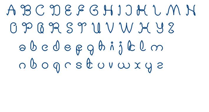 Digital Handmade font