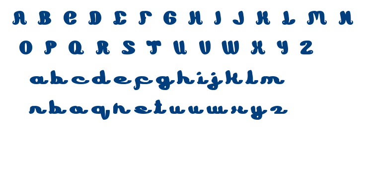 Learning font