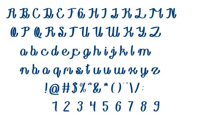 Rainboy in love font