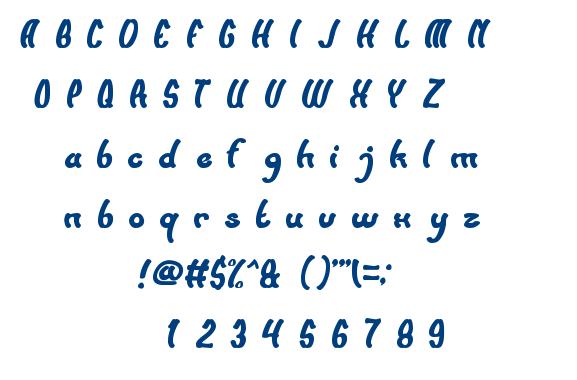SUNSET BEACH font