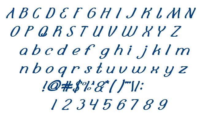 Selamat Hari Raya font
