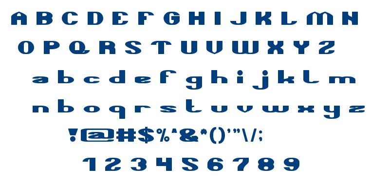 TAKE ME HOME font