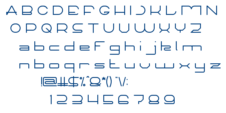 TECHNO CAPTURE font