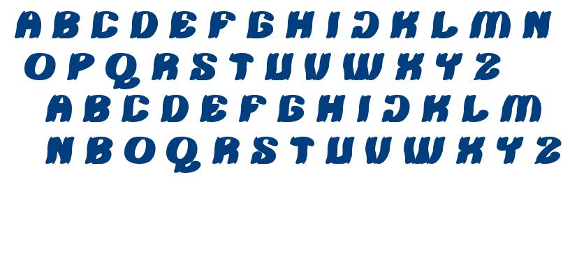 TSHIRT font