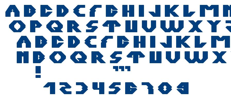 XERXES font