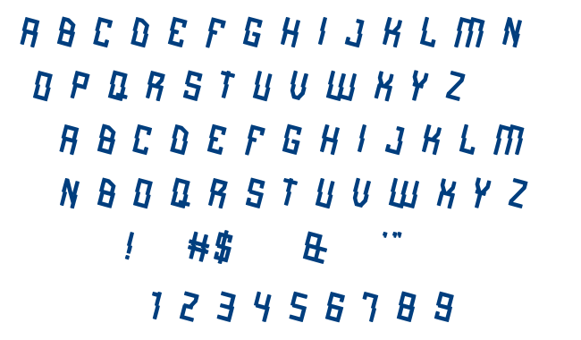 alot of love font