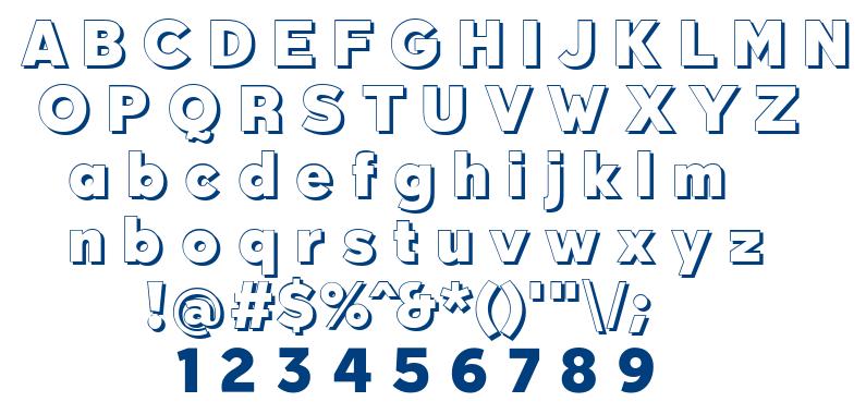 Qebab Shadow FFP font