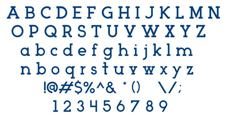 Arctic font
