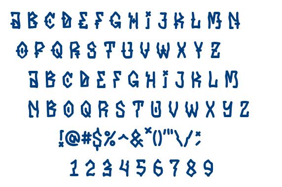 Hater font