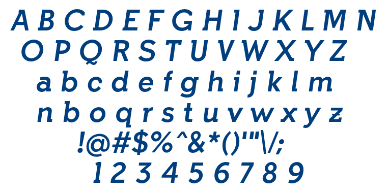 indulta font