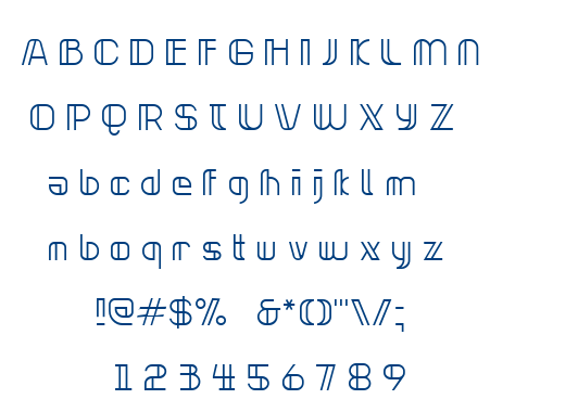Neonclipper font