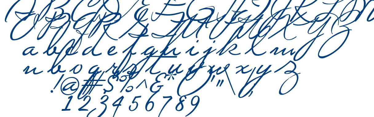 Mi Teiyng Script font