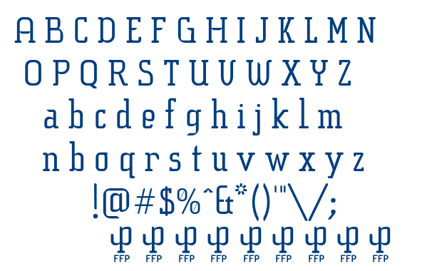 Sucesion Slab font