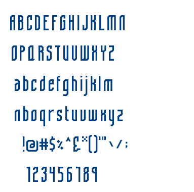 Eiga Regular font