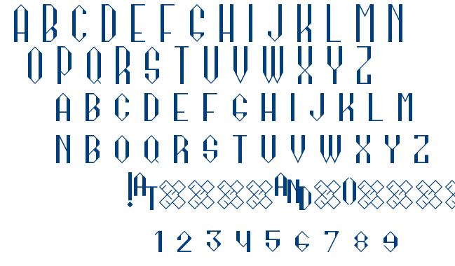 Kagome Regular font
