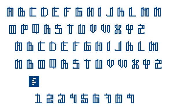 Lain Regular font
