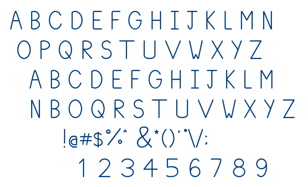 Plum Regular font