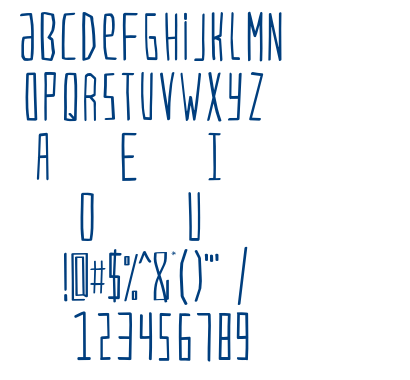 VERSIONTYPe-Regular font