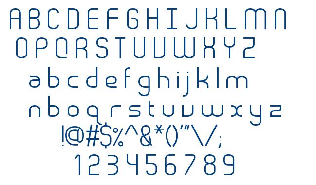 Stroke-Regular font