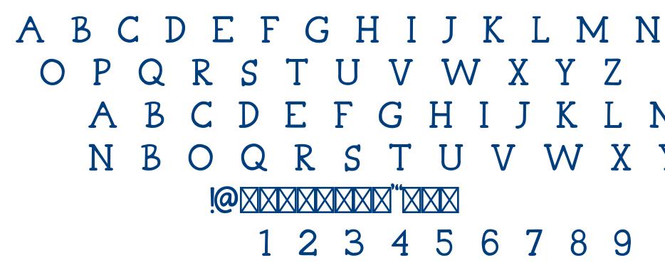 White Pine font