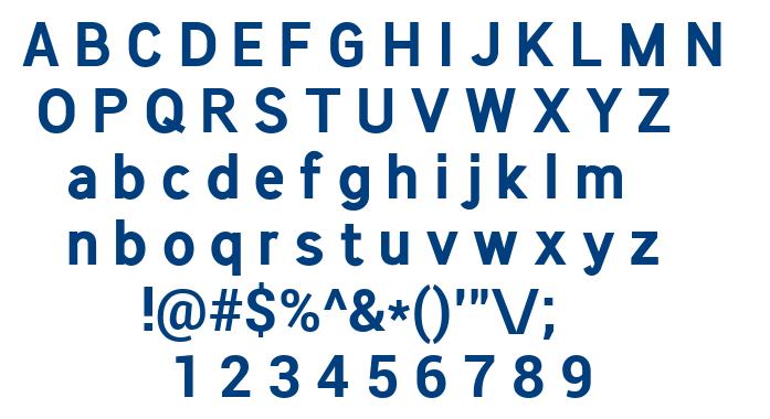 Chameli Sans Bold font