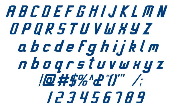 Miami Regular font