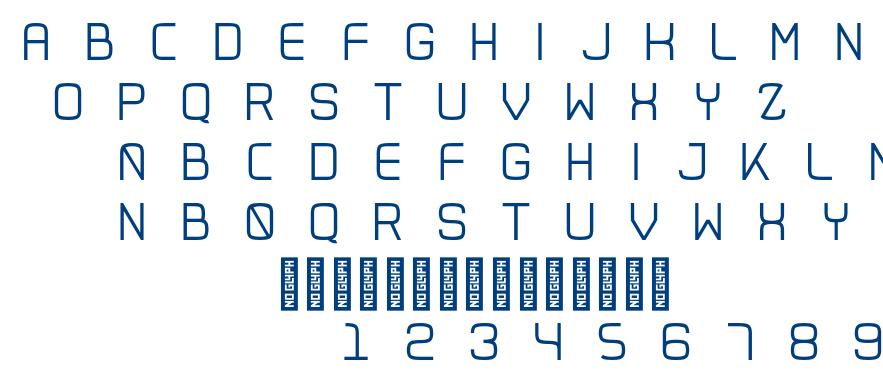 Exan font