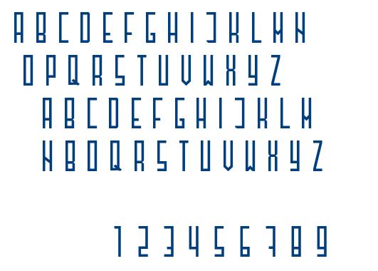 Henzy-Regular font