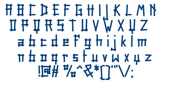 Tape Rail font