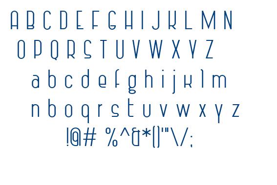 Vintage Straps font