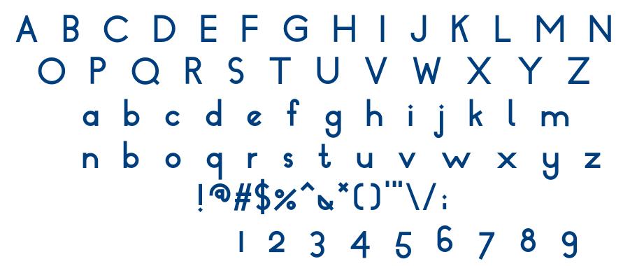 Dressler Bold font