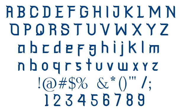 Cagar font