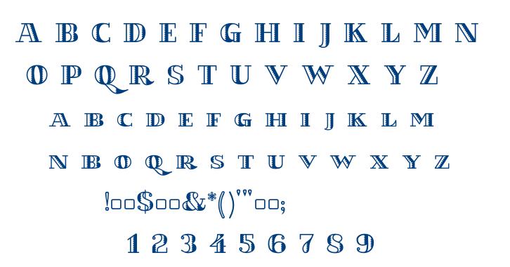 KILAUEA test font