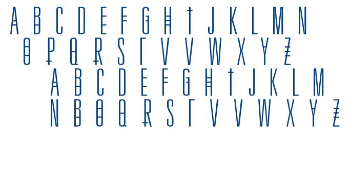 NAFLOW font