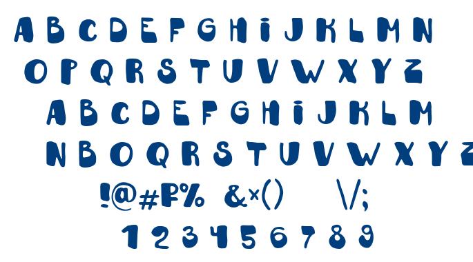 Fantazyor font