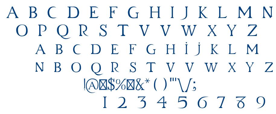 Laude font