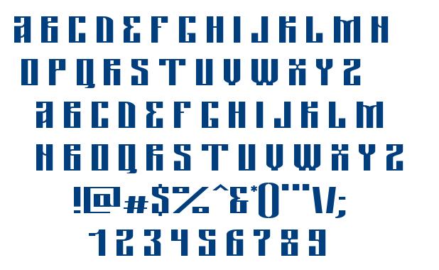 Tsarevich Bold font