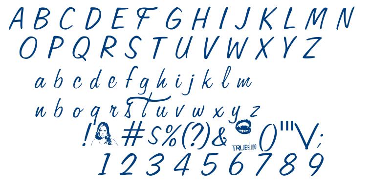Fangtasia font
