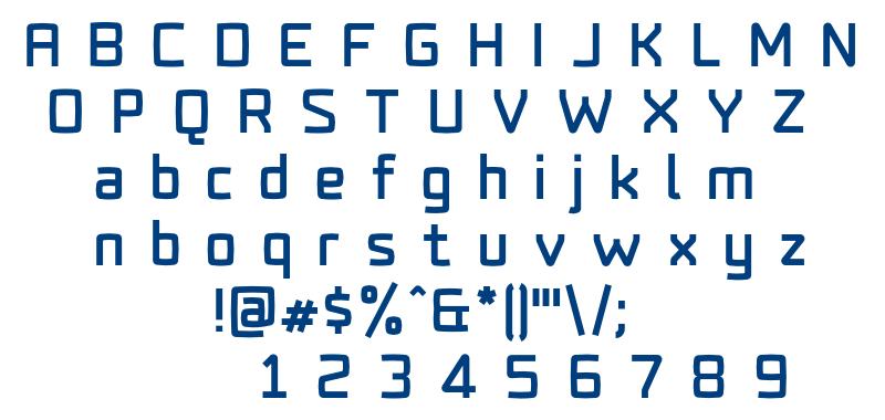 Fenton-Black font