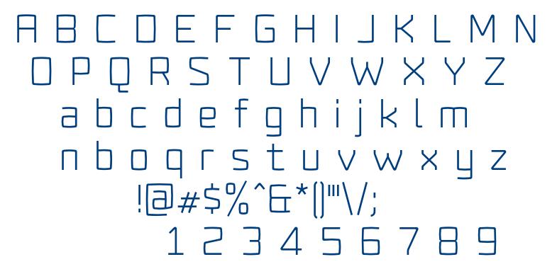 Fenton font