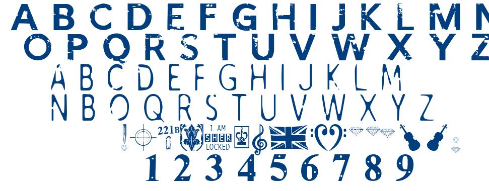 I Am Sherlocked font